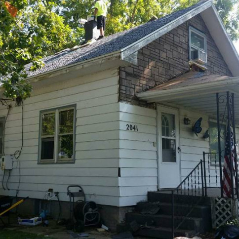 New roof, Siding, and Windows in Clinton, IA