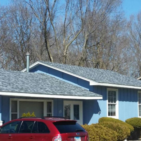 New roof in East Moline, Illinois